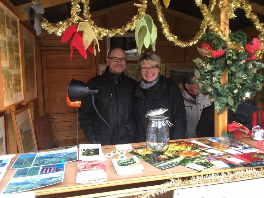 Unser Verein auf dem Weihnachtsmarkt Ilfeld 2015