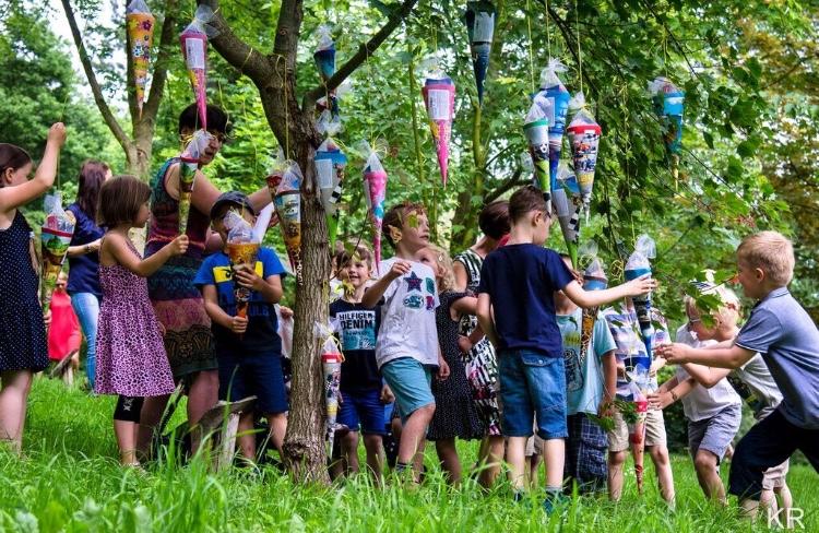 Zuckertütenfest bei uns im Ahornpark